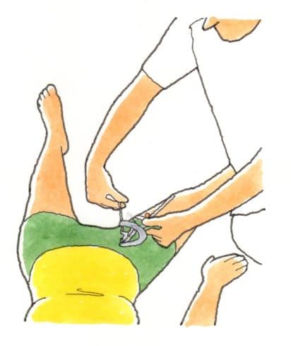 股関節の外転