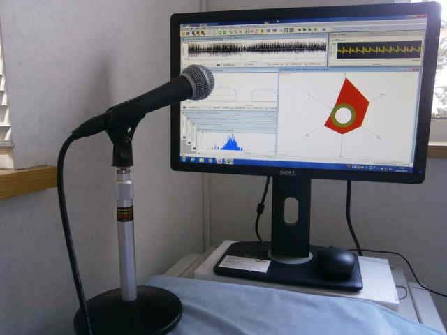 音響分析検査